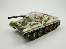 T-34, 1942, Russia, 1:72nd scale diecast Tank №23 by Fabbri