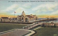 Postcard Ventnor City NJ Municipal Pier