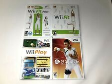 Wii Fit Plus Play Active Nintendo Wii Fitness Sport Video Game Tested Works CIB
