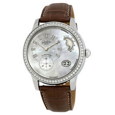 Glashutte PanoMaticLunar Mother Of Pearl Dial Automatic Ladies Watch