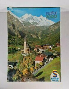 Vintage Heiligenblut Grossglockner Alpes Autrichiennes Jigsaw Puzzle 3000 Pieces