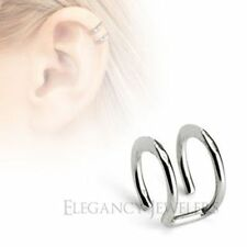 316L Surgical Steel Double Closure Cartilage Clip-On High Polish