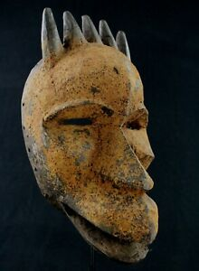 Art African - Mask Dan Zoomorphic Animal Hyena African Maske Mascara - 31 CMS