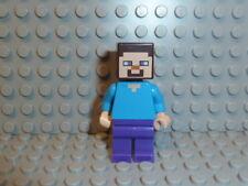 LEGO® Minecraft 1x Figur Steve min009 21144 21128 21136 21138 21115 21120 F1789