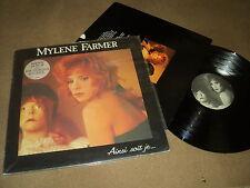 "@ MYLENE FARMER 33 TOURS LP 12"" FRANCE AISNI SOIT-JE (STICKER 2)"