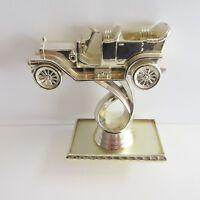 Vintage Automobile Car Trophy Topper Awards Gold Plastic