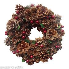 Enchante Pigna & Berry Natale - Ghirlanda - ghirlanda - Decorazione - 22 cm