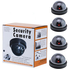 Fake Dummy Dome Surveillance Home Security Camera with LED Sensor Light DE