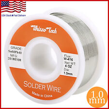 "60/40 Tin Lead Rosin Core Solder Wire Soldering Sn60 Pb40 Flux .039""/1.0mm 100g"