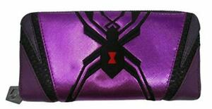 Loungefly X Overwatch Purple Widowmaker Zip Around Wallet Cosplay Handbag