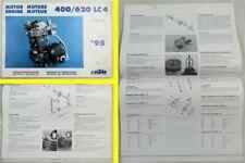 KTM 400ccm 620ccm LC4 Motor Reparaturanleitung Werkstatthandbuch 07/95