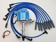 Pontiac 326 350 389 400 455 Hei Distributor Blue 85mm Spark Plug Wires Usa Fits Pontiac