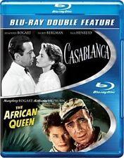 Casablanca / The African Queen Blu-ray 1942 Humphrey Bogart 2 Disc