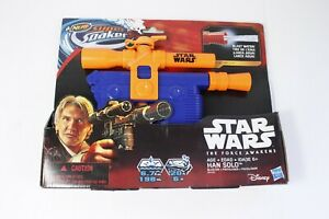 Nerf Super Soaker Star Wars The Force Awakens Hans Solo Blaster