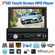 "7"" 1DIN Autoradio Stereo Radio MP5 Player Bluetooth FM USB HD Mirror Link RDS DE"