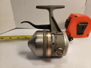 ZEBCO 44 CLASSIC FEATHER TRIGGER UNDERSPIN FISHING REEL MADE IN USA