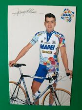 CYCLISME carte cycliste FRANCO BALLERINI équipe MAPEI Bricobi 1998