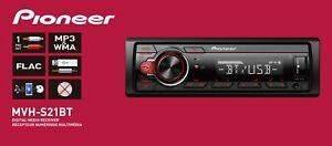 Pioneer MVH-S21BT Digital Media Receiver, Single DIN, In-Dash