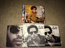 LENNY KRAVITZ - BLACK AND WHITE AMERICA + LOVE...HAND SIGNED 4xCD SET with PROMO