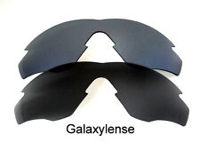 Galaxy Replacement Lenses For Oakley M2 Frame Black&Titanium Polarized 2 Pairs