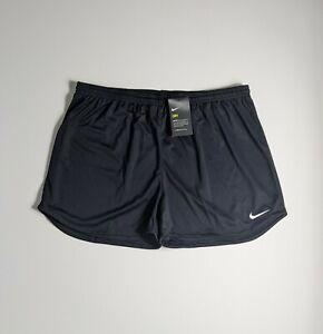 Nike Dri Fit Women's Soccer Training Shorts Black Waist 36 Size XXL NWT $18