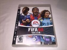 FIFA Soccer 08 (Playstation PS3) Original Release Complete Excellent!