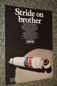 ★★1973 GABRIEL STRIDERS SHOCK ORIGINAL ADVERTISEMENT AD PRINT 73