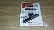 Lee Precision Case Length Guage And Shell Holder For Brass Trimmer 223 Remington