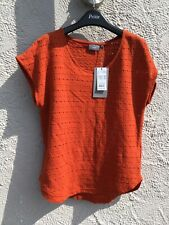 B.young Bypaula Tshirt In Burnt Orange Paprika Small