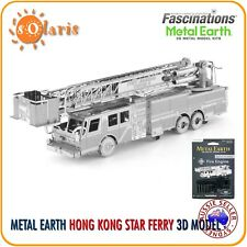 Fascinations Metal Earth Fire Engine Metal 3D Laser Cut Fire Truck Model Kit