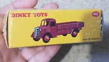 ATLAS DINKY Toys 412 AUSTIN WAGON YELLOW