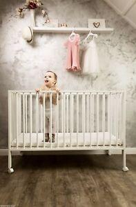 Kinderbett tiSsi 2. Wahl faltbar weiß incl. Matratze Gitterbett weiß