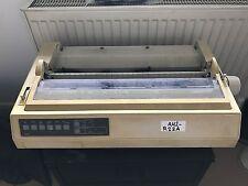 OKI Microline 321 Dot Matrix Printer - (Model GE8253B, ML-321) - Used & Working