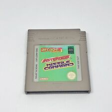 Asteroids Missile Command Nintendo Gameboy Color Advance Game, GENUINE!