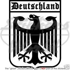 DEUTSCH Deutschland Deutsch Adler Autofenster Vinyl Sticker Aufkleber
