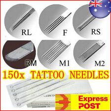 150 x Assorted Tattoo Needle Blue Dot Indicate OZ STOCK