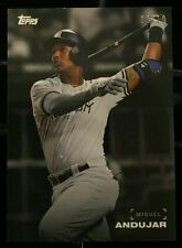 Miguel Andujar 2019 Topps On Demand Black & White Full Player Color #'d 8/10