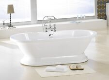 782 PEDESTAL FREE STANDING BATHTUB & FAUCET AND DRAIN SET