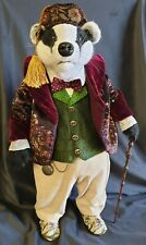 """*New* Cloth Art Doll (Paper) Pattern """"Badger"""" By Suzette Rugolo"""
