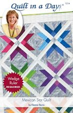 Mexican Star Quilt pattern, Eleanor Burns, Quilt in a Day, 1214 EASY