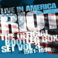 Riot - Live In America: Official Bootleg Box Set Vol 3 1981-1988 [New