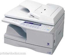Sharp AL-1661CS All-In-One Laser Printer Copier Fax 2 Sided duplex USB, Network