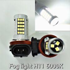 Fog Light Lamp H11 6000K 63SMD 3528 LED Bulb Car Truck B1 For Smart Alfa Romeo U