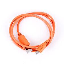 USB Datenkabel für Microsoft Lumia 535 Dual-SIM in orange