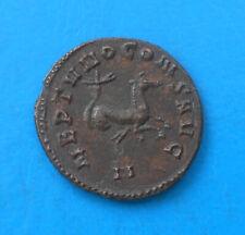 Gallien Gallienus antoninien NEPTVNO CONS AVG , bestiaire , hippocampe EXTRA