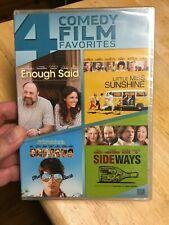 4 Comedy Film Favorites  - Enough Said, Sunshine, Sideways, Way Way Back - new!