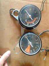 1969 Honda SL350 speedometer speedo & tach tachomoter & bracket  gauge SET Assy