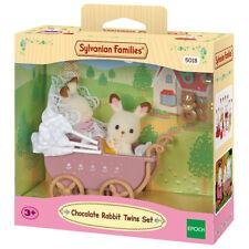 SYLVANIAN Families Chocolate Rabbit Twins Set 5018