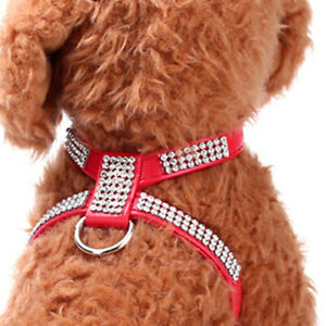 Extra Small Puppy Harness Strap Collar Vest for Dog Pet Cat Chihuahua Yorkie