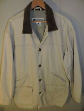 Vintage Columbia Canvas Barn Coat Field Jacket Size Large/ XL